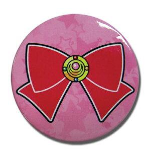 美少女戦士セーラームーン 変身ブローチ & リボン 2インチ 缶バッジ グッズ 約5.1cm 北米版