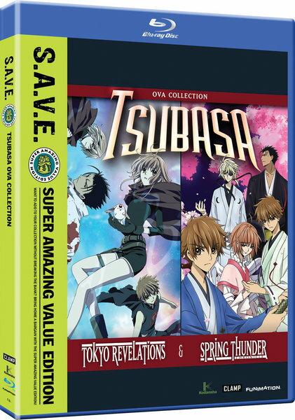 ツバサ TOKYO REVELATIONS ツバサ 春雷記 OVA版 BD 145分収録 北米版