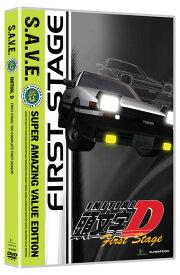 頭文字D 1st Stage 廉価版 DVD 全26話 650分収録 北米版