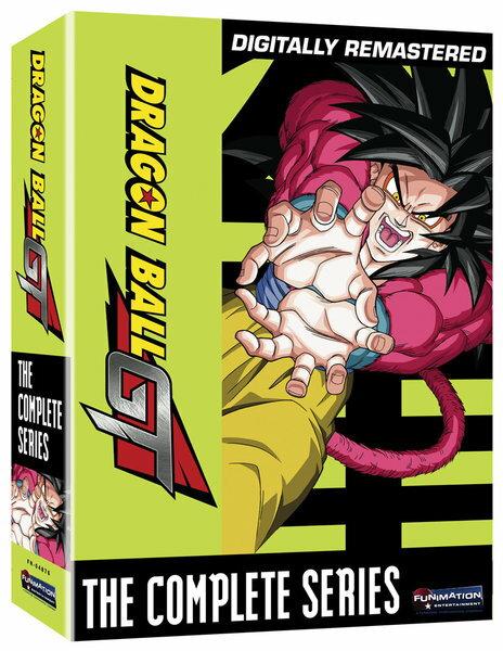 ドラゴンボール GT (デジタルリマスター) 再販版 DVD 全64話+番外編1話 1520分収録 北米版