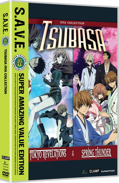 ツバサ TOKYO REVELATIONS ツバサ 春雷記 OVA版 DVD 145分収録 北米版