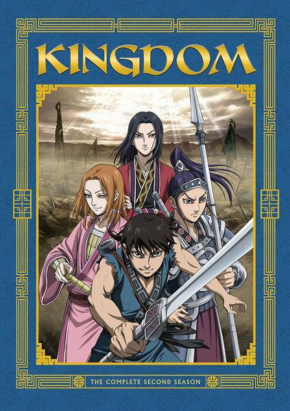 キングダム 第2期 DVD 全39話 975分収録 北米版