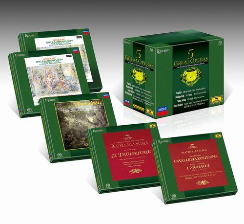新品SACD-BOX5グレイトオペラズ