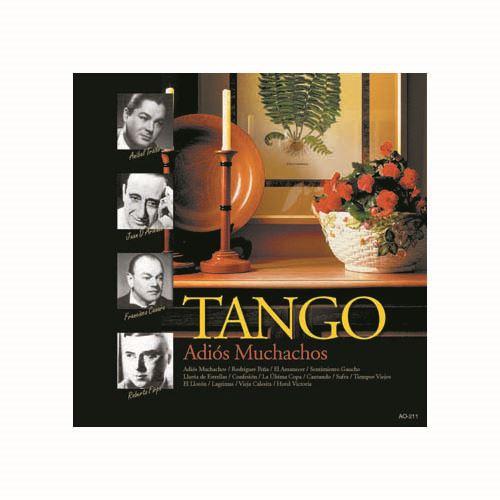 タンゴ・ベスト さらば友よ AO-211オール・ザ・ベスト(CD)