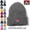 ニットキャップ BEN DAVIS ベンデイビス ニット帽 BDW-9500 コットン ニットキャップ COTTON KNIT CAP 帽子 ネコポス …