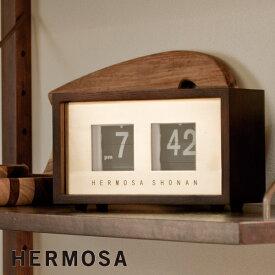 置き時計 HEROMSA ハモサ ピボットクロック PIVOT CLOCK RP-002 パタパタ時計 パタパタクロック 置時計 おしゃれ デザイン 子供 ギフト 引っ越し 新生活 敬老の日 結婚 祝い 10倍 プレゼント 送料無料