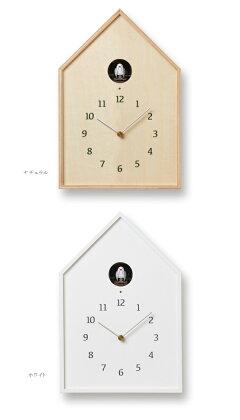 鳩時計Lemnosタカタレムノス壁掛け時計NY16-12BirdhouseClockバードハウスクロックカッコー時計置き時計置き掛け兼用[時計壁掛け掛け時計ウォールクロックおしゃれデザイン子供ギフト引っ越し新生活結婚祝い送料無料]10倍プレゼント