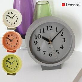 置き時計 Lemnos タカタレムノス 壁掛け時計 MK14-04 m clock 電波時計 置き掛け兼用 [時計 壁掛け 掛け時計 ウォールクロック おしゃれ デザイン 子供 ギフト 引っ越し 新生活 ハロウィン 結婚 祝い 送料無料] 10倍 プレゼント
