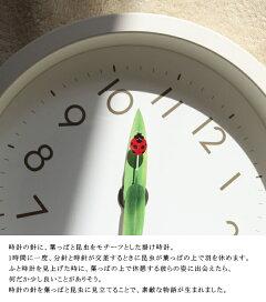 置き時計LemnosタカタレムノスSUR20-06とまり木の時計miniテーブル用置き掛け兼用時計壁掛け時計ウォールクロックおしゃれデザイン子供ギフト引っ越し新生活バレンタイン祝い10倍プレゼント