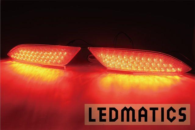 【LEDMATICS商品】RU3/4 ヴェゼル 純正加工LEDリフレクター H8-72