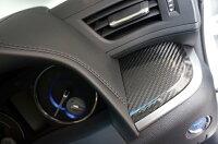 8月初旬発送予定商品トヨタアルファードヴェルファイア30系専用ドライカーボン製フロントスイッチパネル2点セット