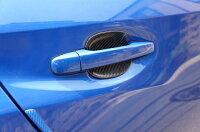 スバルWRX-STI/S4専用ドライカーボン製ドアハンドルプロテクター4点セット/st336b