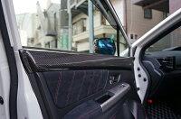 【7月初入荷予定】スバルWRX-STI/S4ドライカーボン製ドアトリム2点セット/rj230