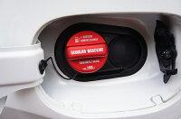 フューエルキャップカバーホンダ車汎用フューエルキャップに被せて貼るだけ!レギュラー・ハイオクの2パターン【C】