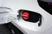 フューエルキャップカバースバル車用レヴォーグWRXSTI/S4インプレッサスポーツ/G4XVフォレスターフューエルキャップに被せて貼るだけ!レギュラー・ハイオクの2パターン【C】