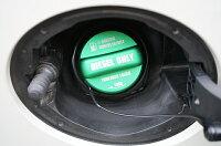 アルミ製フューエルキャップカバー【ガソリンキャップカバー】スバル車用レヴォーグ,WRXSTI/S4,BRZ,フォレスター等フューエルキャップに被せて貼るだけ!赤/青/黄(ハイオク仕様のみ)/緑(ディーゼル仕様のみ)の4色から選択可能!【C】