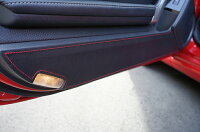 【4月末入荷予定】ドアキックガード2点セット【新商品】トヨタ86【型式:ZN6】スバルBRZ【型式:ZC6】ドアをキズ・汚れからガード!貼るだけの簡単取付