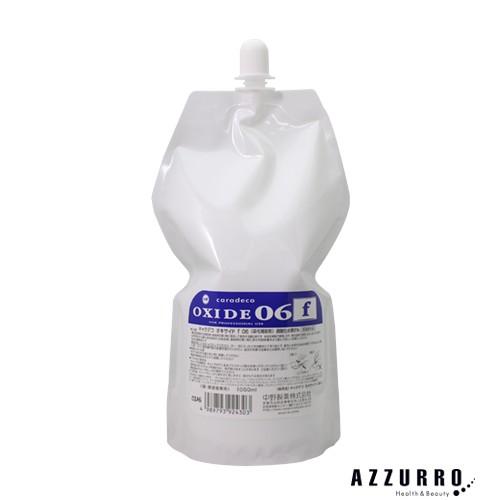 中野製薬 ナカノ キャラデコ オキサイド f06 第2剤 過酸化水素6% 1050ml