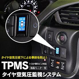 液晶モニター型タイヤ空気圧監視情報システム TPMS ノア 80系 RR8#G ZRR8#W ZWR80G ZWR80W 後期 H29.7〜 5ピン 【送料無料】 AZ1