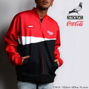 SALE/STAPLE/ステイプル/Coca-Cola Classic Track Jacket/コカ・コーラ/トラックジャケット/メンズ/紳士/2019春夏新作/M/L/XLサイズ/コラボ/ダブルネ