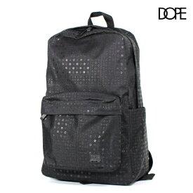 DOPE ドープ ペイズリー柄 バックパック メンズ BLACK ブラック 黒 リュック 鞄 b系 ヒップホップ ストリート系 ファッション ビッグシルエット 大きい サイズ ストリート メンズ 送料無料 新作