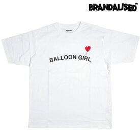 BRANDALISED ブランダライズド Banksy バンクシー グラフィック アート Tシャツ 半袖 WHITE ホワイト M/L/XL ストリート アウトドア メンズ 大きいサイズ 2021 新作 送料無料 あす楽