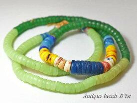【1604】ANTQボヘミアカンカンバMIXビーズ一連A6【とんぼ玉】【アンティークビーズ】【ビーズ】【パーツ】【チェコ】【送料無料】【antiquebeads】【beads】