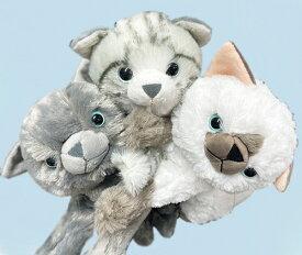 家族型 ネコ ロボット コミュニケーションロボット なでると鳴きます! 「なでなでねこちゃんDX3シリーズ」 ロシアンブルー シャム猫 アメリカンショートヘア 子猫 介護機器 癒しの効果 アニマルセラピー効果 送料無料 知育玩具 ぬいぐるみ おもちゃ