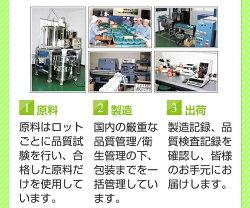 原料・製造・出荷までの安心工程