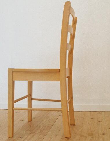座面高45cm,薄い茶色,白木色,木製/飲食店用イス,シンプル,スタイリッシュ