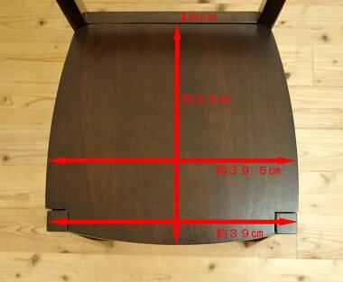 【木製カウンターチェア/CCK408/カプチーノ(ブラウン)】カウンターチェア/木製ハイカウンタースタンド椅子こげ茶色、ブラウン色