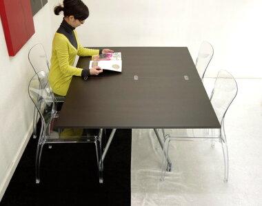 広げて大人数でも使える伸長式リフティングテーブルセット