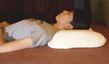 【快眠寝具/こだわり仕上げコットン極上二重織りガーゼ枕カバー、ラテックス枕10cmセット】二重ガーゼピロケース/さらさら枕カバー、快眠枕セット