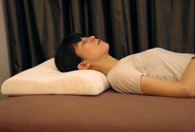 高反発枕ラテックス枕頸椎を優しく支える枕