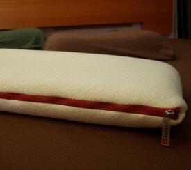 即納/安眠枕【快眠枕-ひまわり/テクノチューブ枕厚さ8cm】高反発/低反発枕、快適睡眠枕、イタリアdorsal社製