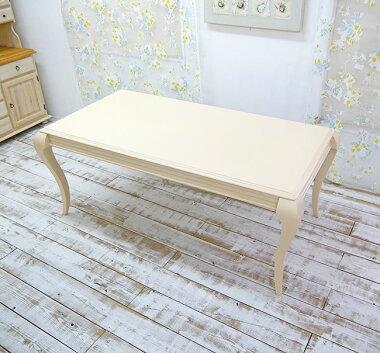 クラッシックホワイトテーブル