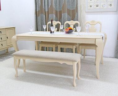 猫脚ダイニングテーブルクラシック調クイーンアン180cm幅ダイニングテーブルクイーンアン調テーブル単品、店舗用商品陳列用テーブル、大型テーブル