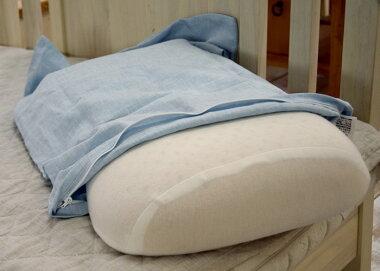 ラテックス枕とのセットです