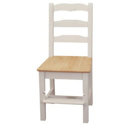 高さ97cm 背もたれが高い学習椅子【カントリーパイン学習イス/HSC-BJ97ミルキーホワイト】カントリーパインチェア/カントリーパインデスクチェア/白いチェア