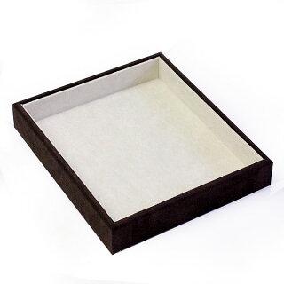 アクセサリーの収納ケース♪プロ仕様のジュエリートレー高級宝石箱☆ジュエリーケース収納ボックスジュエリーボックスジュエリーBOX宝箱宝石箱jewelrybox指輪入れリングケースアクセサリーaccessorycase宝石箱宝箱メール便不可茶色ブラウン華奢シンプル