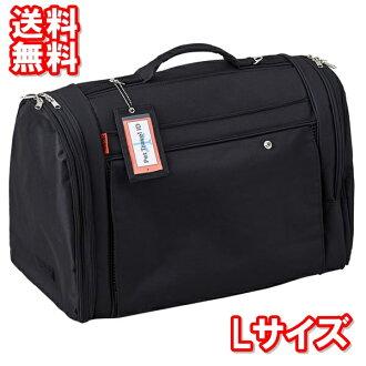 供供供宠物使用的飞翔距离帆布背包肩膀手提行李小型狗使用的猫使用的背包飞翔距离全部的覆盖物L黑色