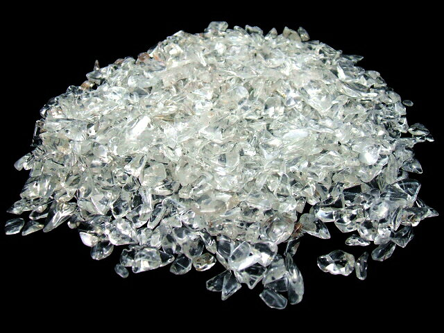 DM便【送料無料】水晶さざれ石チップ500g、パワーストーン浄化、当店人気No.1