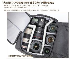 Endurance(エンデュランス)カメラバッグ2気室構造ロールトップリュックタイプ一眼レフ用