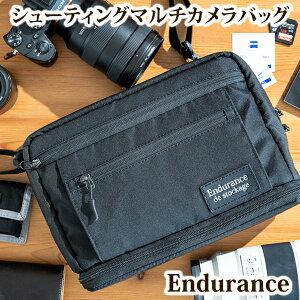 Endurance(エンデュランス)シューティングマルチカメラバッグショルダーバッグ一眼レフカメラバックショルダーカメラバッグカメラポーチ一眼レフミラーレス一眼カメラケース