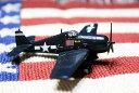ヘルキャット★F6F-5・HELLCAT★アメリカ海軍 Minsi III USSエセックス★1:144スケール戦闘機模型★ミリタリー アメリカ 雑貨 オール…