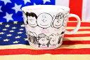 スヌーピー マグカップ 愉快な仲間達 デカマグシリーズ 陶器製 PEANUTS SNOOPY 雑貨 キャラクター スヌーピーグッズ