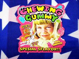 CHEWING GUMMY アメリカンポップ系 ステッカー チューインググミ シール 雑貨
