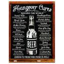 BEER 二日酔いを治す方法 Hangover Cures レトロシリーズ ビール系 アメリカンブリキ看板 アメリカ ブリキ看板 アメリカン雑貨 アメリ…