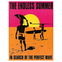 エンドレスサマー Poster サーフィン系映画 アメリカンブリキ看板 アメリカ ブリキ看板 アメリカン雑貨 アメリカ雑貨 サインプレート …