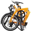 DAHON DAHON EEZZ D3 folding bicycle three phases shifting 16 inches bicycle easy D3 yellow sunrise